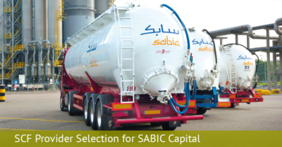 SCF Provider Selection for SABIC Capital