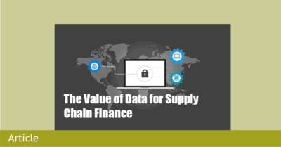 The Value of Data for Supply Chain Finance by Capital Chains