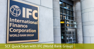 SCF Quick Scan with IFC - World Bank Group