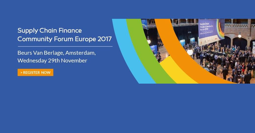 Supply Chain Finance Community Forum 2017