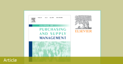 Elsevier | SCF Schemes in the Procurement of Agricultural Products