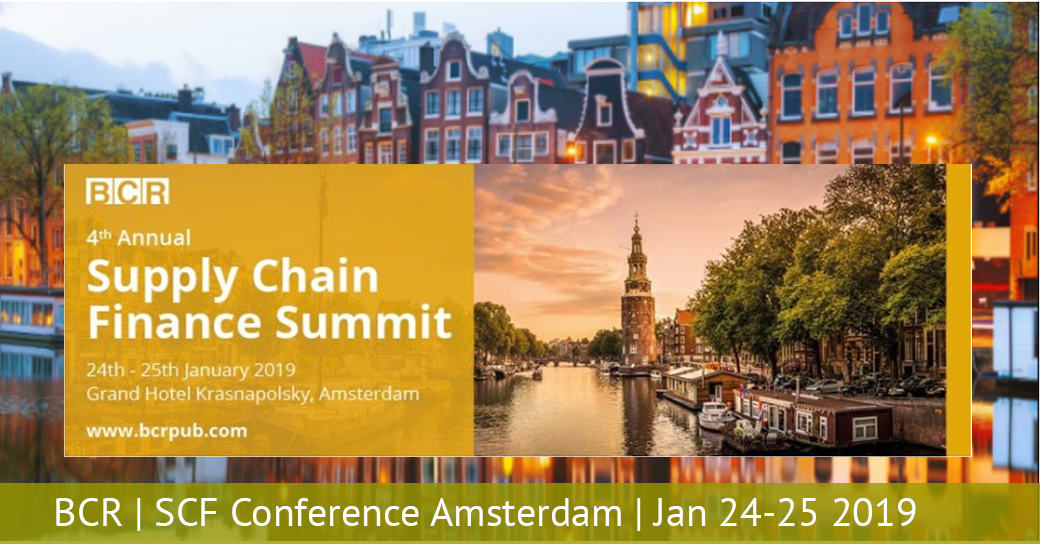 2019 BCR Supply Chain Finance Summit Amsterdam