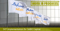 SCF Implementation for SABIC Capital WiP 1