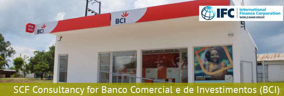 SCF Consultancy for Banco Comercial e de Investimentos (BCI) 2